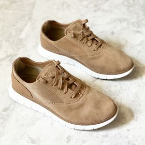 Vionic Taylor Suede Lace Up Casual Sneakers 9.5 W